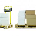 Ročni in električni paletni viličar za skladiščne enote