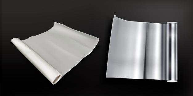 aluminijasta folija